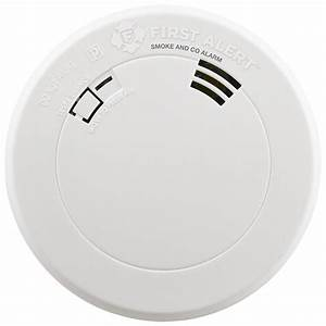 First Alert Smoke And Carbon Monoxide Alarm Manual