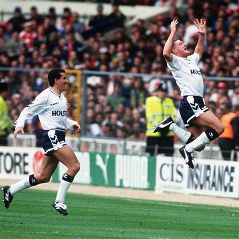 The Emirates FA Cup - Tottenham Hotspur 3-1 Arsenal - 1991 ...
