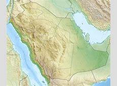موقع جبل اللوز على الخريطة المرسال