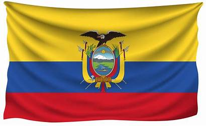 Ecuador Flag Flags Wrinkled Wallpapers National Clipart