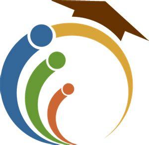 education circle logo vector ai