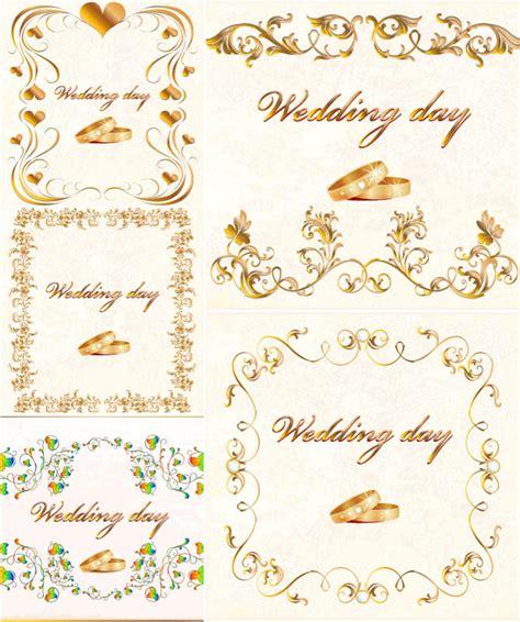 wedding vector wedding cards designs vector vector graphics