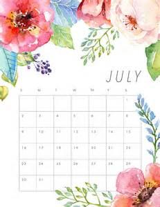 July 2017 Calendar Printable