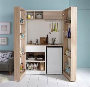 Meuble de cuisine nos modeles de cuisine preferes cote for Petite cuisine équipée avec meuble buffet salle à manger
