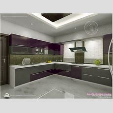 Kitchen Interior Views By Ss Architects, Cochin  Home