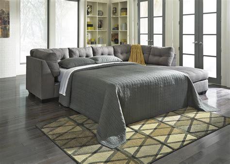 Ashley Furniture Maier Charcoal Laf Full Sofa Sleeper With