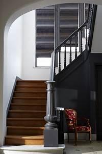 1000 idees sur le theme halls d39entree sur pinterest With good peinture d une maison 7 decoration montee descaliers