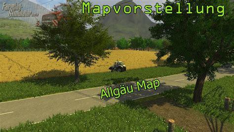 landwirtschafts simulator  mapvorstellung allgaeu