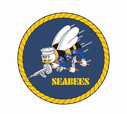 Seabee Seabees Navy Vector Clipart Emblem Naval