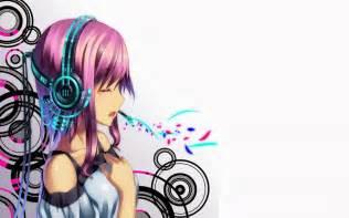 Nightcore Anime Girl with Headphones