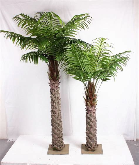 sjh indoor potted palm tree  artificial palm