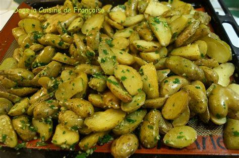 rangement pomme de terre cuisine pommes de terre ratte rôties au four dans la cuisine de