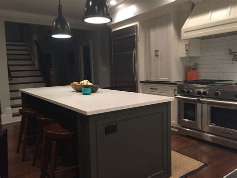 sherwin williams countertop paint island sherwin williams black fox ceasarstone grey
