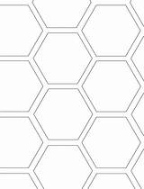 Bee Coloring Preschool Honeycomb Honeycombs Themed Diy Bees Templates Tracing Hexagons Apple Blossom Shapes Then sketch template