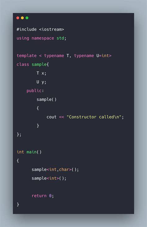 templates tutorial   template class