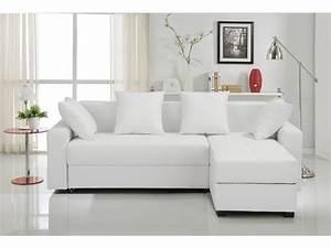 photos canape d39angle tissu blanc With canape angle tissu blanc