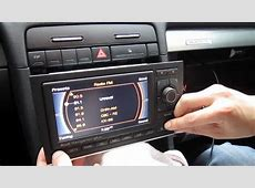 Audi A3, A4, A5, A6 RNSE iPod iPhone AUX adapter YouTube
