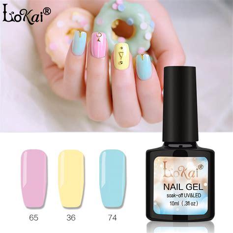lokai gel uv vernis semi permanent 10ml uv nail gel soak lasting led nail