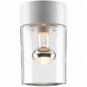 Abat Jour Salle De Bain : plafonnier cylindrique au design minimaliste pour salle de bains et sauna lampe en c ramique et ~ Melissatoandfro.com Idées de Décoration