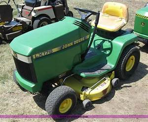 John Deere Lx176 Lawn And Garden Tractor Service Manual