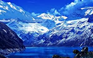 Lake Mountains Blue Water
