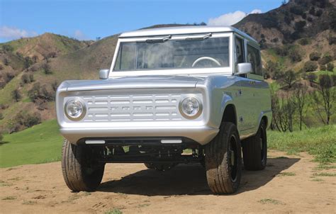 labs  electric ford bronco restomod