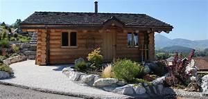 petit chalet en bois rondins With maison en rondin de bois prix