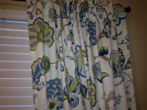 White Curtains Ideas by 2 Beautiful Curtain Panels P Kaufmann Arabella Lagoon 50