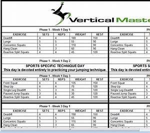 Increase Vertical Jump Workout Pdf