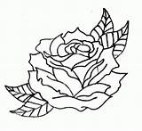 Outline Rose Drawing Outlines Tattoos Flower Drawings Roses Tattoo Coloring Simple Flowers Traditional Deviantart Cliparts Clipart Pages Designs Library Sketches sketch template