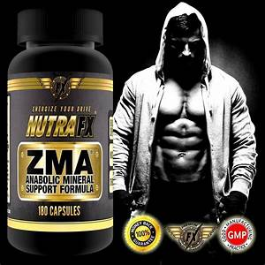 Zma Supplement - Post Workout Muscle Recovery - Testosterone Booster