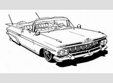 Book Review Lowrider Coloring Book Autoweek