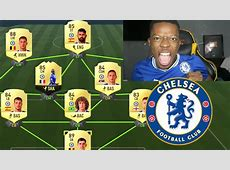 FULL CHELSEA TEAM FIFA 17 YouTube