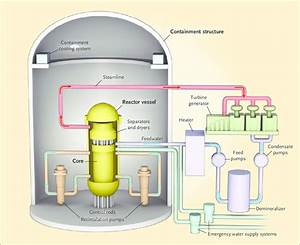 Key Components Of A Nuclear Power Plant  In A Boiling