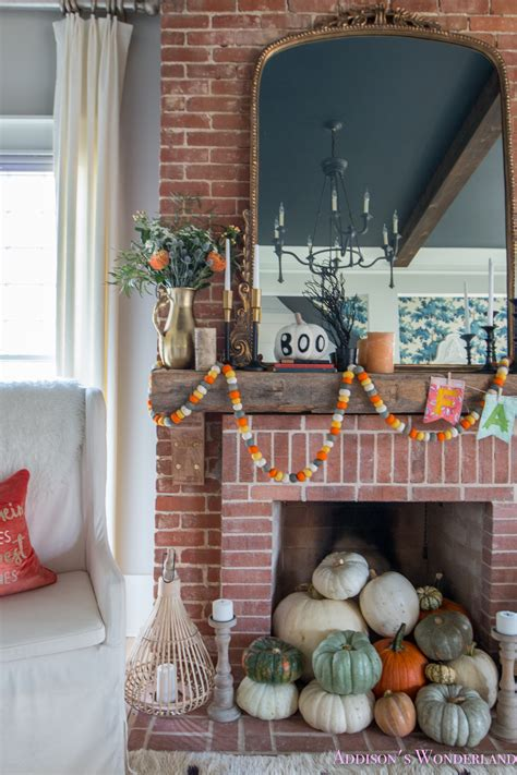 room decoration our fall living room decor w mantle ideas