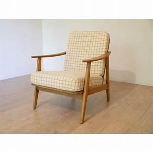 Chaise vintage style scandinave for Fauteuil design danois