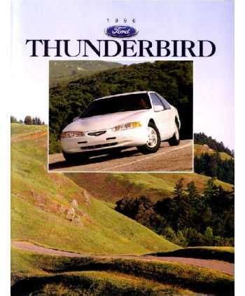 ford thunderbird sales brochure