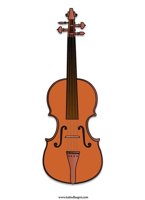 strumento musicale il violino tuttodisegnicom