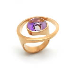 jim earrings angela hubel gold amethyst magic ring