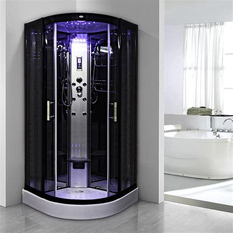 cabine de avec siege cabine insignia galaxy hydro 90 90x90cm