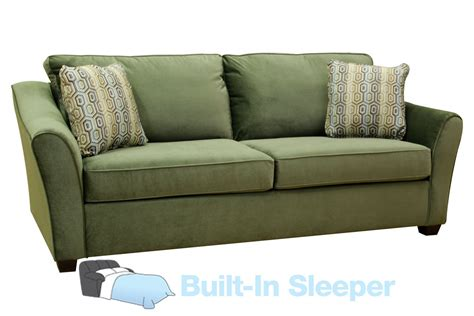Microfiber Queen Sleeper Sofa by Garland Microfiber Queen Sleeper Sofa
