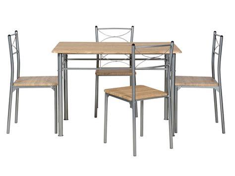 table et chaise de cuisine conforama ensemble table rectangulaire 4 chaises de cuisine tutti