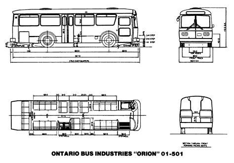 School Bu Dimension Diagram by The I Transit Toronto Content