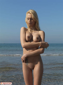 Erica Fontes In Nude Beach Part By Hegre Art Erotic