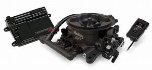 Holley Terminator U2122 Efi 4bbl Throttle Body Fuel Injection