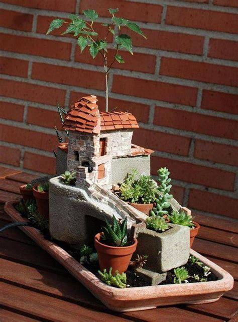 สวนจิ๋วในบ้านใหญ่   ミニチュアガーデン, 妖精の庭, 庭