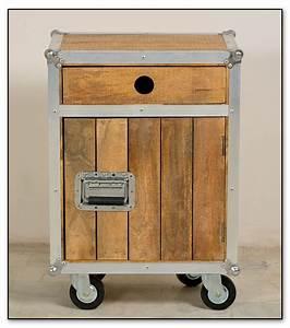 Bad Set Holz : sam bad set 5tlg vintage holz metall mit rollen roadies bestellware ~ Indierocktalk.com Haus und Dekorationen