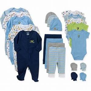 Baby Boy Baby Shower 21 Piece Set Clothes Infant Newborn 0 ...
