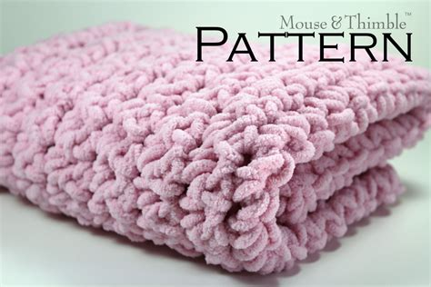 Chunky Wool Blanket Crochet Pattern (5)