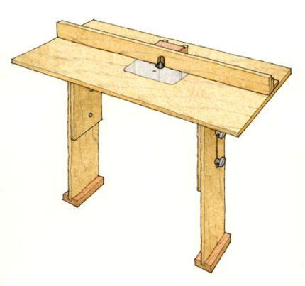router table plans images  pinterest